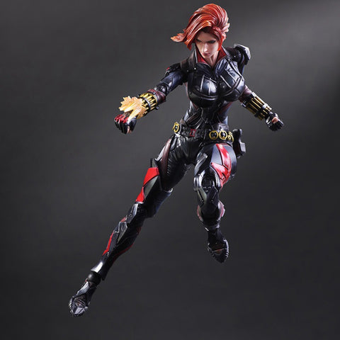 Actionfiguresale Play Arts Marvel Black Widow Action Figures Toy 25cm