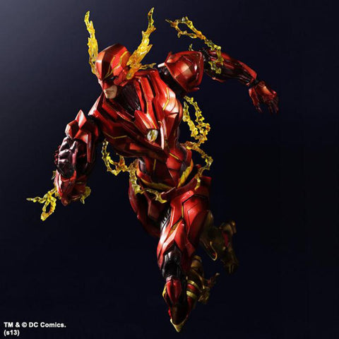 Actionfiguresale Play Arts DC Super Hero the Flash Action Figrues Toy 25cm