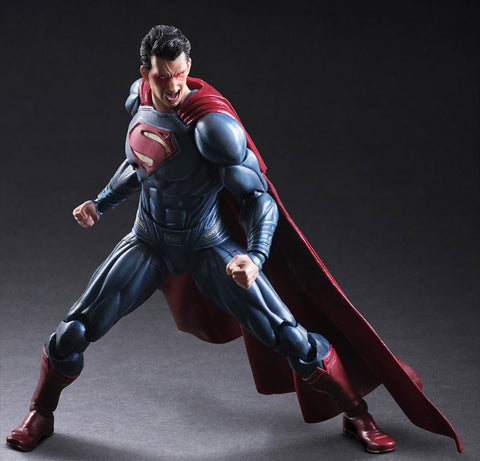 Actionfiguresale Play Arts DC Super Heroes Superman Action Figure Toy 26cm