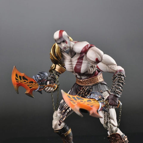 Actionfiguresale Play Arts God Of War Kratos Figure Toy 26cm