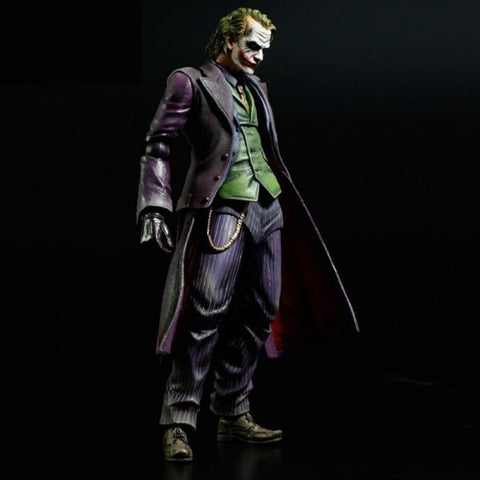 Play Arts DC The Joker PVC Action Figure Toy 25cm