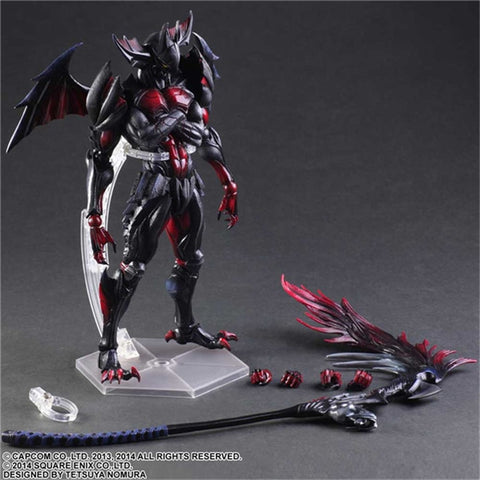 Actionfiguresale Play Arts Monster Hunter Action Figure Toy 25cm
