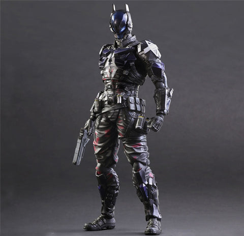 Actionfiguresale Play Arts DC Arkham Knight Batman Action Figure Toy 26cm