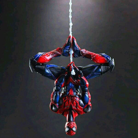 Play Arts Action Figure Toys Marvel Super Hero Spider-man 26cm