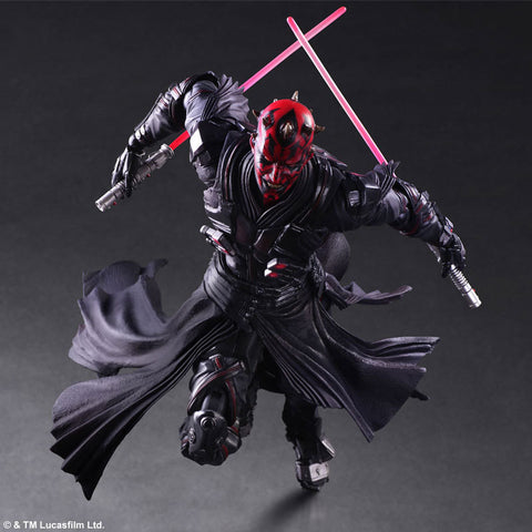 Actionfiguresale Play Arts Star Wars Darth Maul Figure Toy 26cm