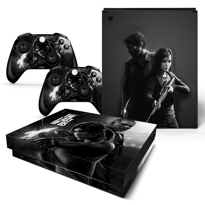 Actionfiguresale The Last Of US Vinyl Skin Sticker Protector for Xbox One X