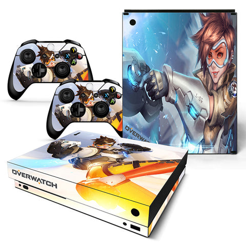 Actionfiguresale Overwatch Vinyl Skin Sticker Protector for Xbox One X