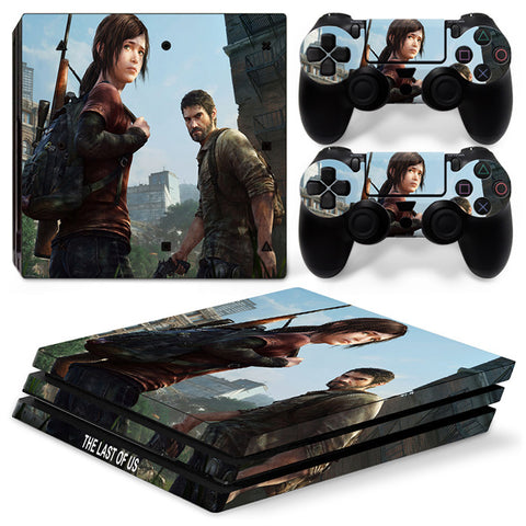 Actionfiguresale The Last Of US For PS4 Pro Skin Sticker Cover For PS4 Playstation 4