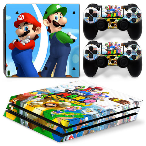 Actionfiguresale Super Mario For PS4 Pro Skin Sticker Cover For PS4 Playstation 4