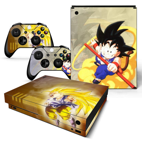 Actionfiguresale Dragonball  Vinyl Skin Sticker Protector for Xbox One X