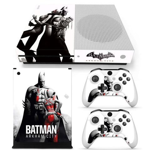 Actionfiguresale Batman Vinyl Skin Sticker Protector for Xbox One S