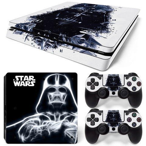 Star wars  For PS4 Slim Skin Sticker Vinyl Cover