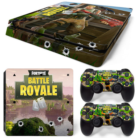 Fortnite For PS4 Slim Skin Sticker Vinyl Cover