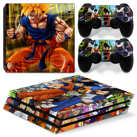 Actionfiguresale Dragonball For PS4 Pro Skin Sticker Cover For PS4 Playstation 4
