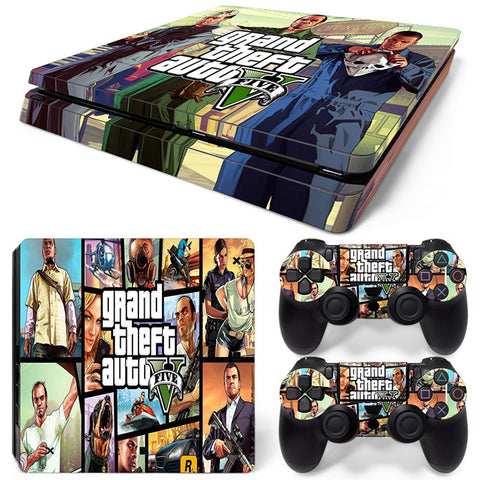 Grand theft autov  For PS4 Slim Skin Sticker Vinyl Cover