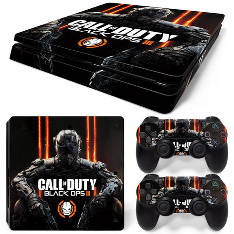 Actionfiguresale Call of duty  For PS4 Slim Skin Sticker Vinyl Cover