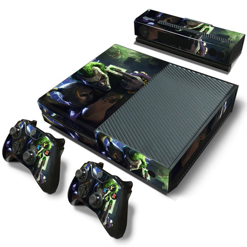 Actionfiguresale The Joker Vinyl Skin Sticker Protector for Microsoft Xbox One