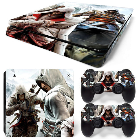 Actionfiguresale Assassin's creed For PS4 Slim Skin Sticker Vinyl Cover