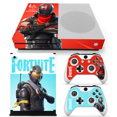 Fortnite Vinyl Skin Sticker Protector for Xbox One S