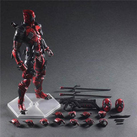 Play Arts Marvel Super Hero Deadpool Action Figure PA Toys 25cm KO version