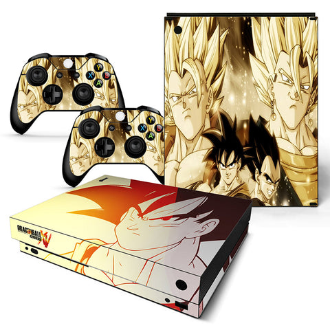 Dragonball  Vinyl Skin Sticker Protector for Xbox One X
