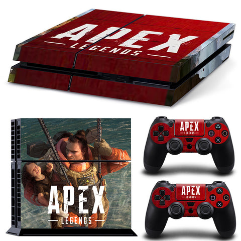 Actionfiguresale Apex legends For PS4 Vinyl Skin Sticker Cover For PS4 Playstatio 4