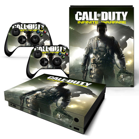 Actionfiguresale Call Of Duty Vinyl Skin Sticker Protector for Xbox One X