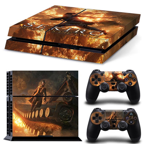 SEKIRO SHADOWS DIE TWICE For PS4 Vinyl Skin Sticker Cover For PS4 Playstatio 4
