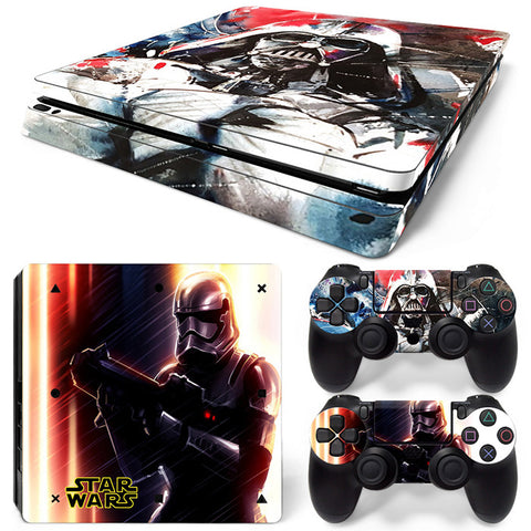 Actionfiguresale Star wars For PS4 Slim Skin Sticker Vinyl Cover