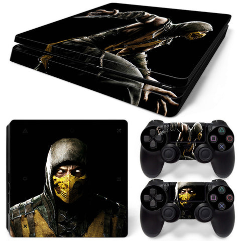 Mortal Kombat  For PS4 Slim Skin Sticker Vinyl Cover