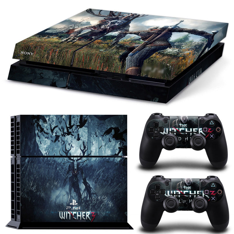 Actionfiguresale The Witcher For PS4 Vinyl Skin Sticker Cover For PS4 Playstatio 4