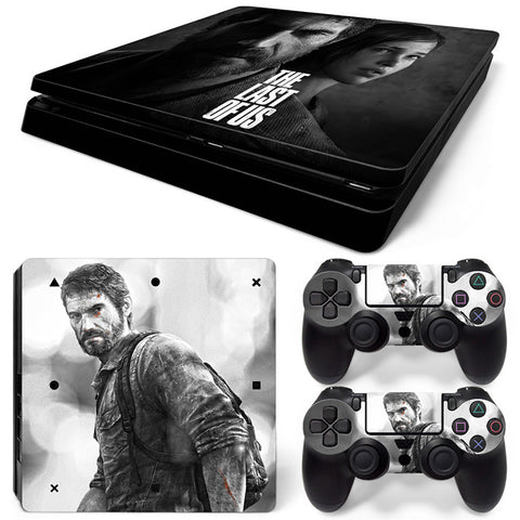 Actionfiguresale the last of us For PS4 Slim Skin Sticker Vinyl Cover