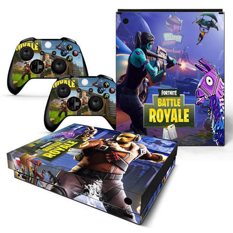 Actionfiguresale Fortnite Vinyl Skin Sticker Protector for Xbox One X