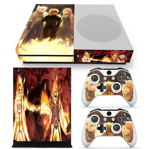 Actionfiguresale Naruto Vinyl Skin Sticker Protector for Xbox One S