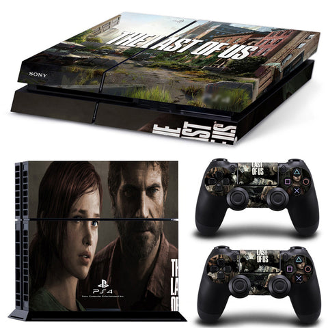 Actionfiguresale The Last Of US For PS4 Vinyl Skin Sticker Cover For PS4 Playstatio 4