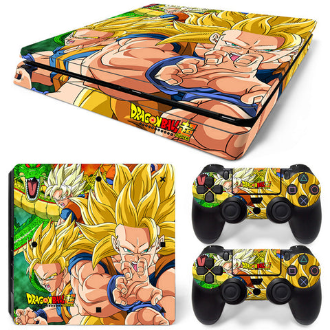 Dragonball For PS4 Slim Skin Sticker Vinyl Cover