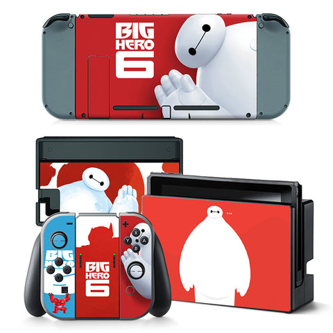 Nintend Switch Vinyl Skins Sticker For Nintendo Switch Console and Controller Skin Set - For Cartoon