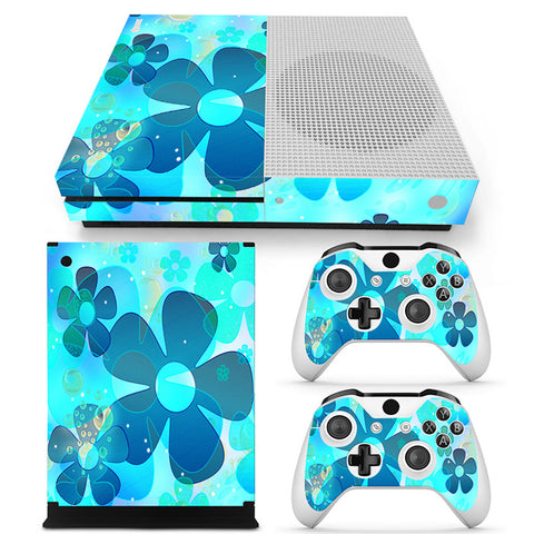 Actionfiguresale Geometric Pattern Vinyl Skin Sticker Protector for Xbox One S