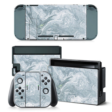 Nintend Switch Vinyl Skins Sticker For Nintendo Switch Console and Controller Skin Set - For Plain Colour