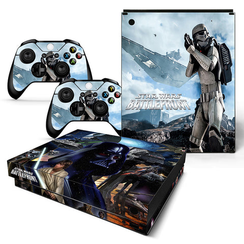 Actionfiguresale Star Wars Vinyl Skin Sticker Protector for Xbox One X