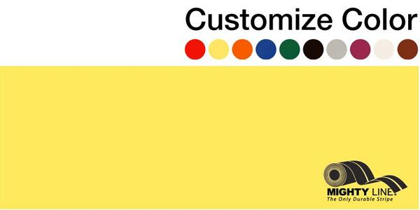 "Customized - 6"" Repeating Message Floor Tape - 1 Roll"