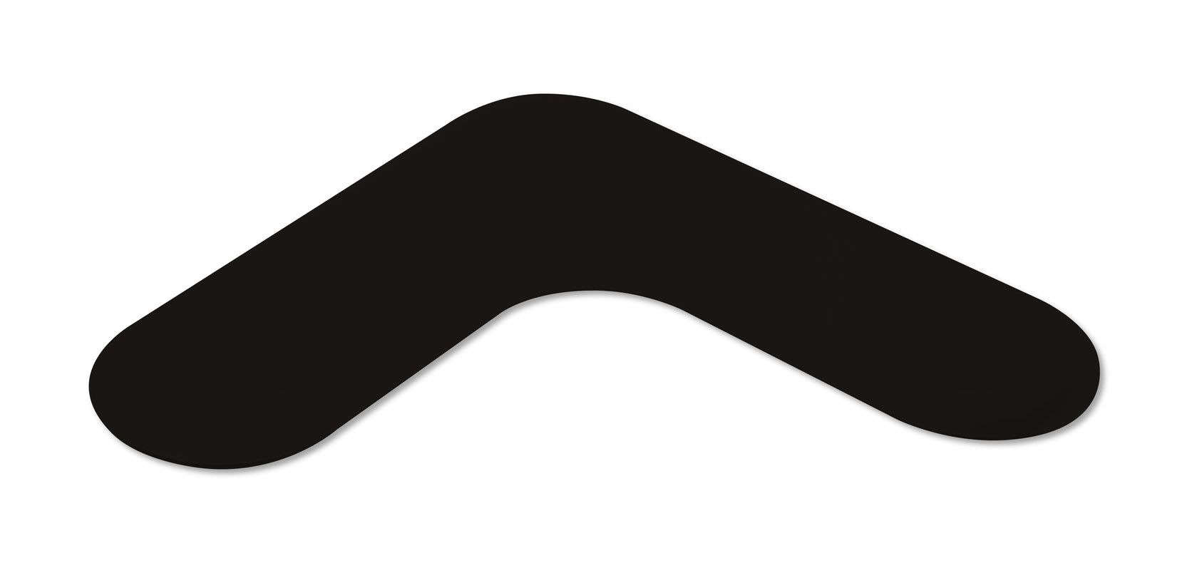 "Mighty Line 2"" Wide Rounded Black Angles - Packs of 50"