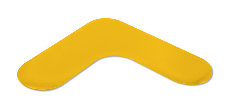 "Mighty Line 2"" Wide Rounded Yellow Angles - Packs of 50"