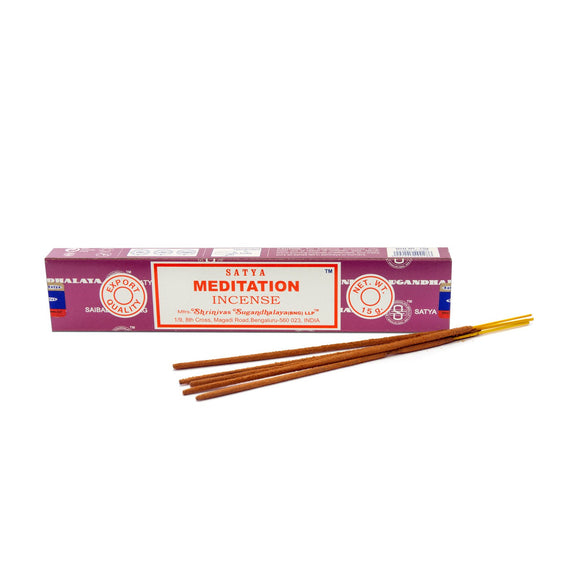 Satya - Meditation- 1 Pack (15 Sticks)