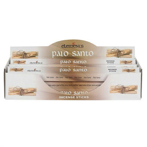 Elements Incense Sticks - Palo Santa 1 Pack (20 Sticks)