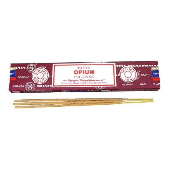 Satya - Opium- 1 Pack (15 Sticks)