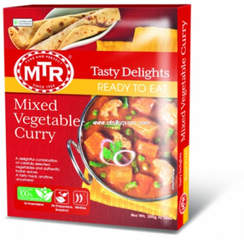 MTR Mixed Veg curry