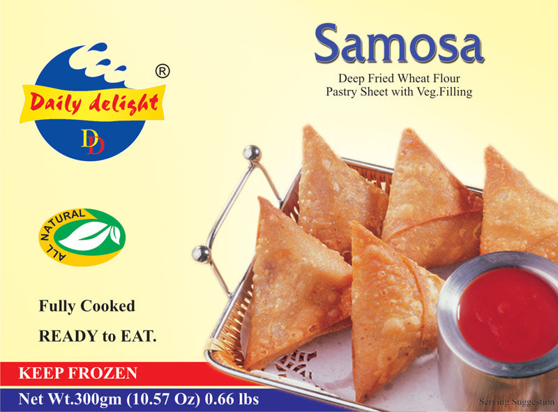 Samosa daily delight