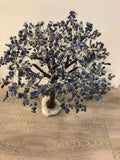Tree with Sodalite stones