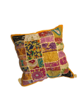 Patchwork cushion cover - Orange